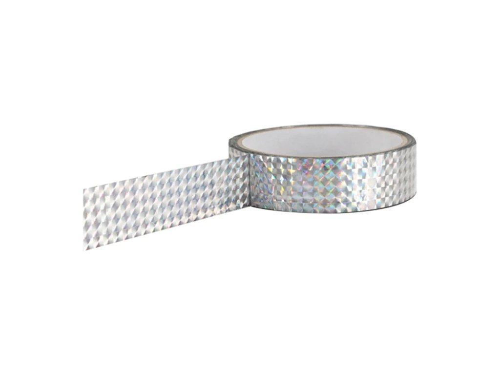 Izolepa VFstyle fluo stříbrná