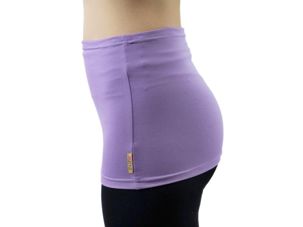 Ledvinový pás Comfort, světle fialový
