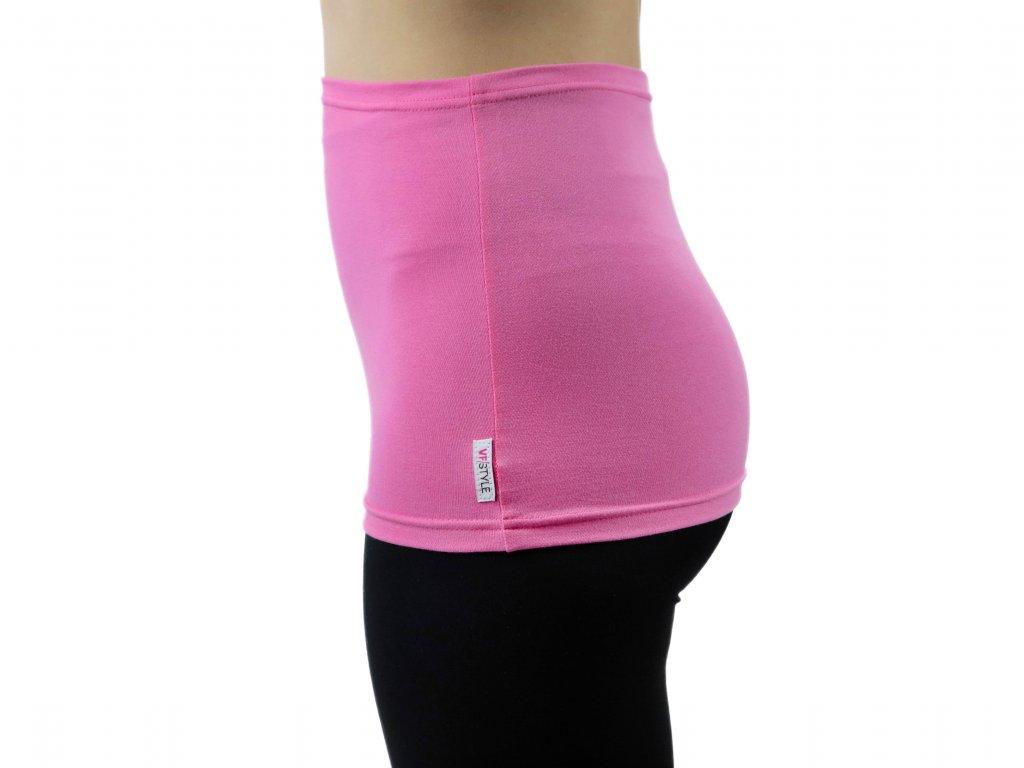 Ledvinový pás Comfort, světle růžový