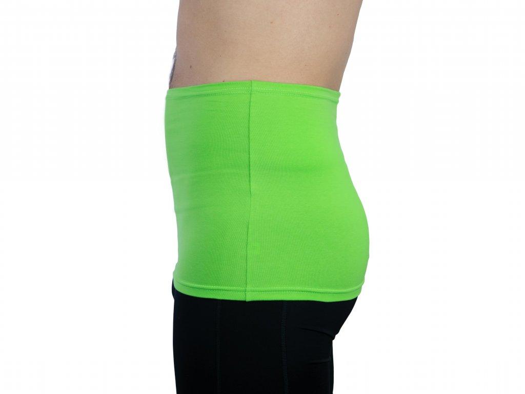 Pánský ledvinový pás Comfort, zelený