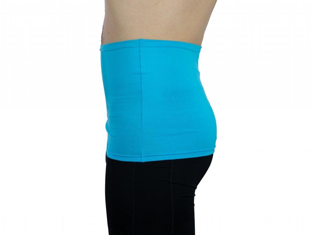 Pánský ledvinový pás Comfort, tyrkysový