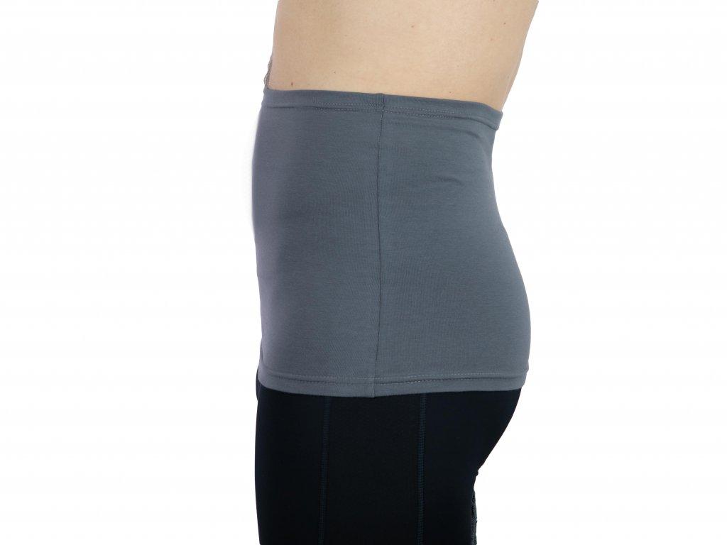 Pánský ledvinový pás Comfort, šedý