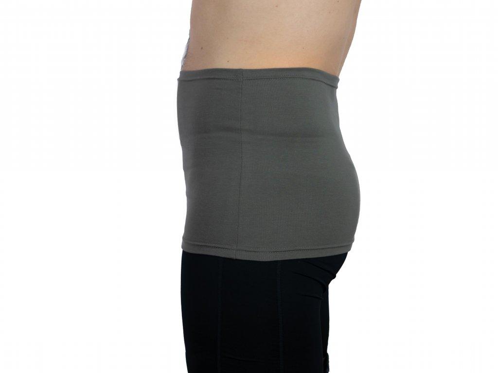 Pánský ledvinový pás Comfort, khaki