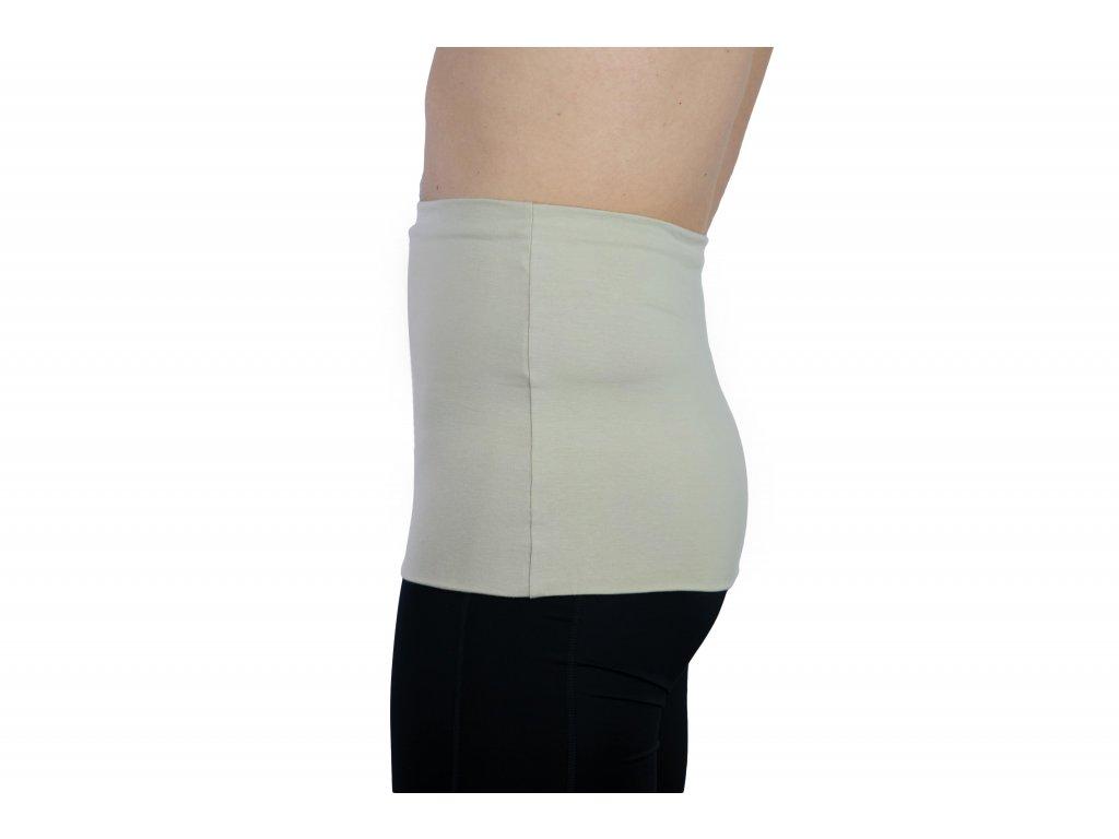 Pánský ledvinový pás Premium, béžový