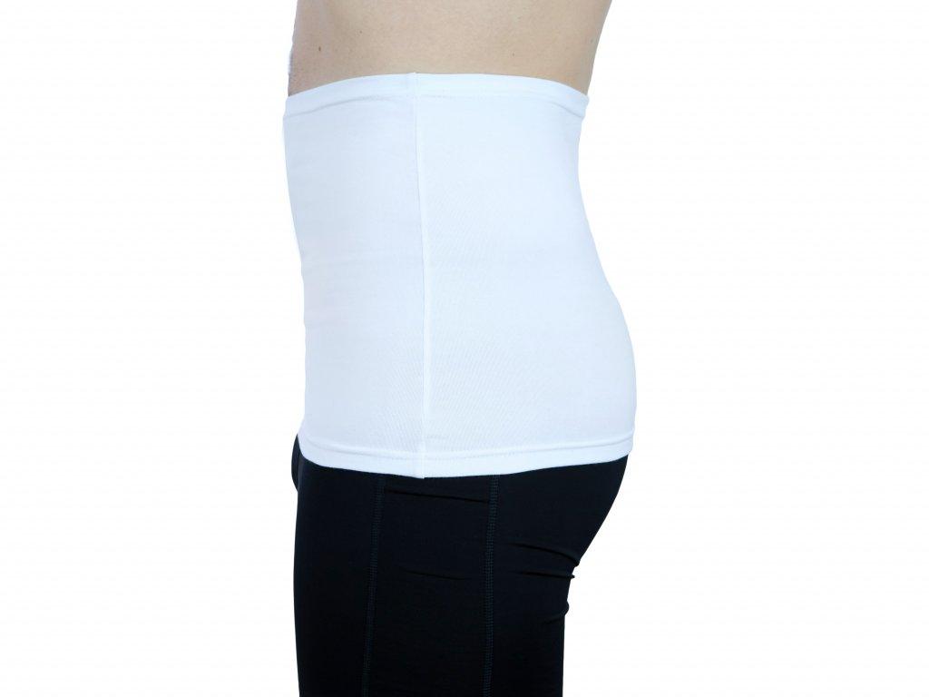 Pánský ledvinový pás Premium, bílý