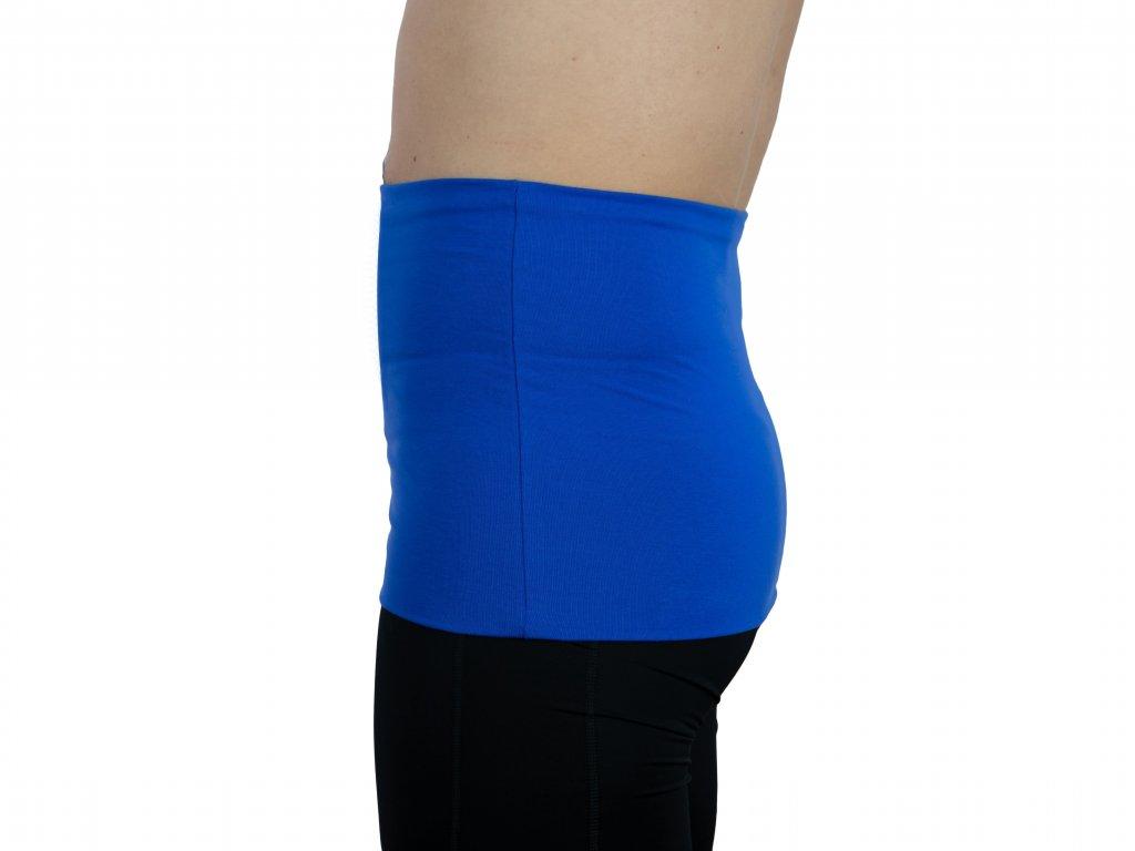 Pánský ledvinový pás Premium, královsky modrý