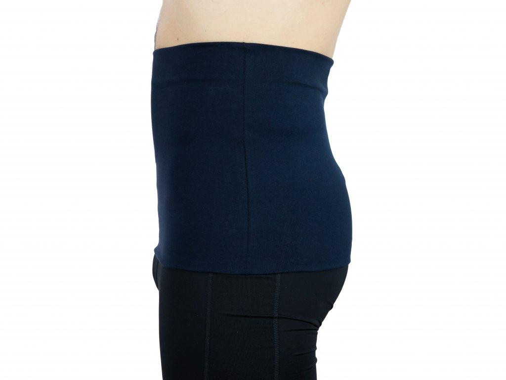 Pánský ledvinový pás Premium, tmavě modrý