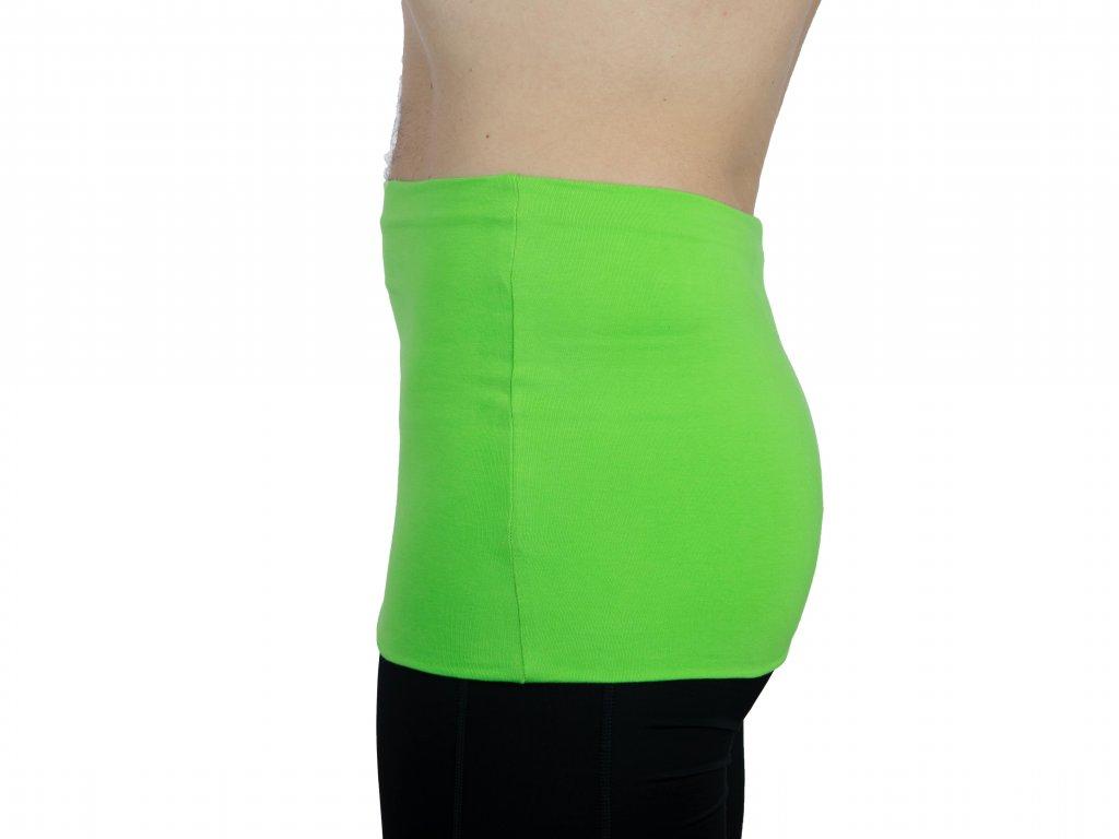 Pánský ledvinový pás Premium, zelený