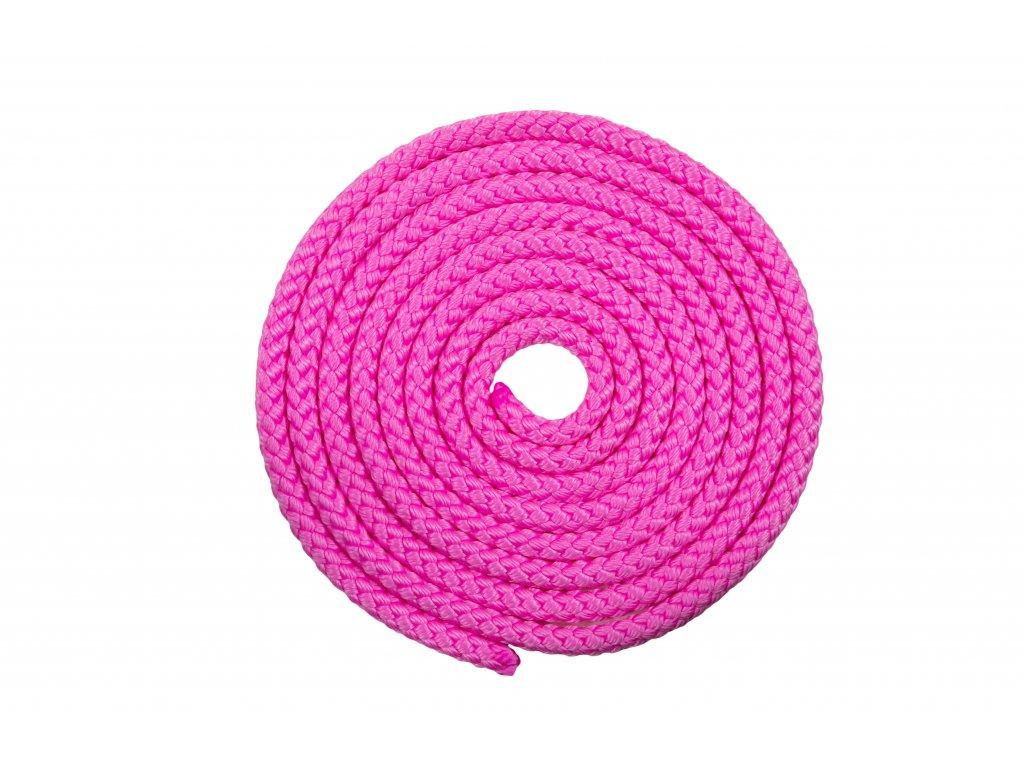 Gymnastické švihadlo VFstyle růžové