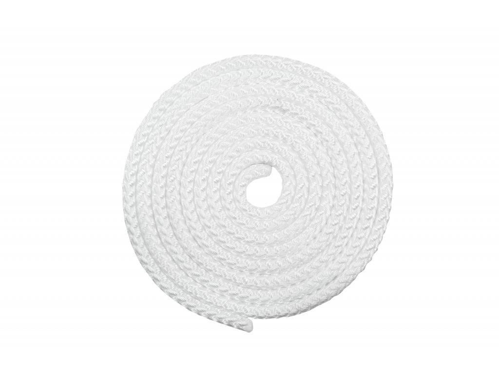 Gymnastické švihadlo VFstyle bílé
