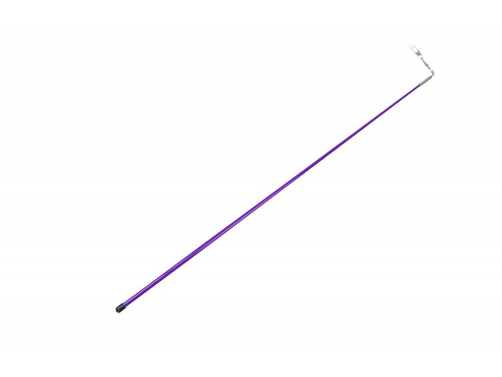 Tyčka ke stuze 56 cm fialová