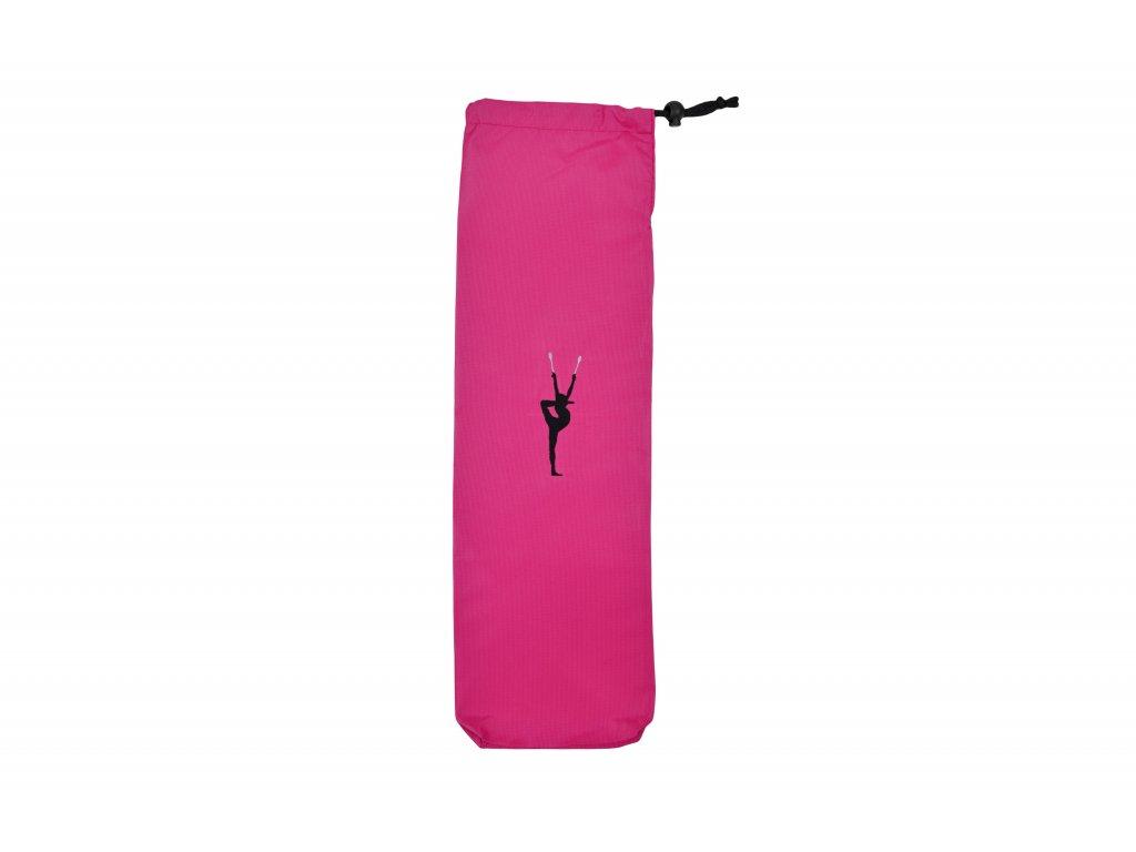 Obal na kužele VFstyle s gymnastkou růžový