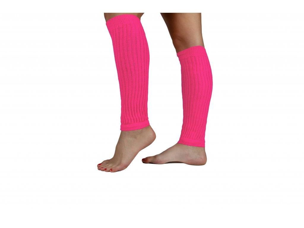 Návleky na nohy 35 cm růžové