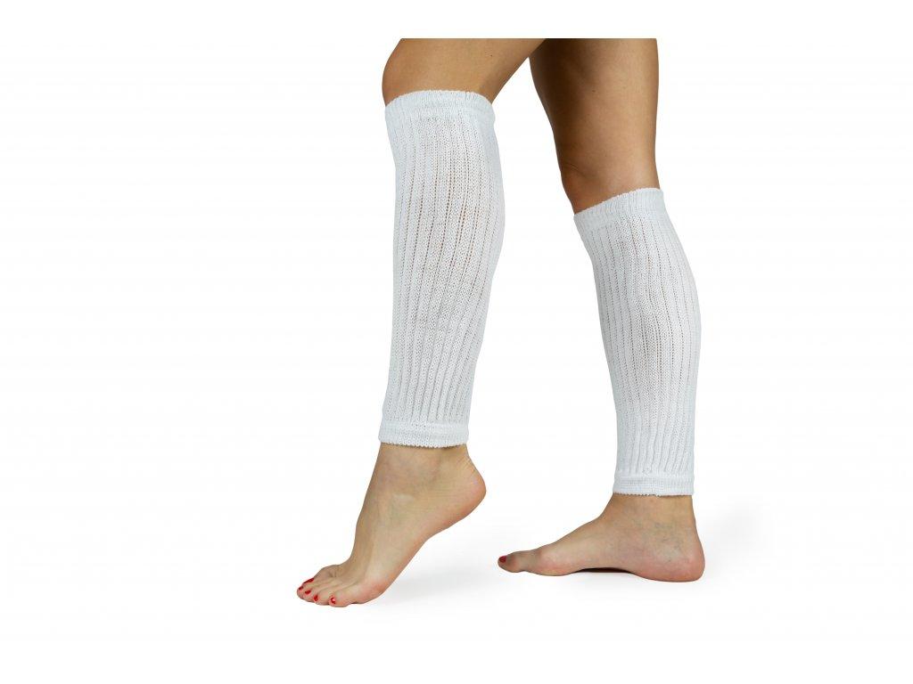 Návleky na nohy 35 cm bílé