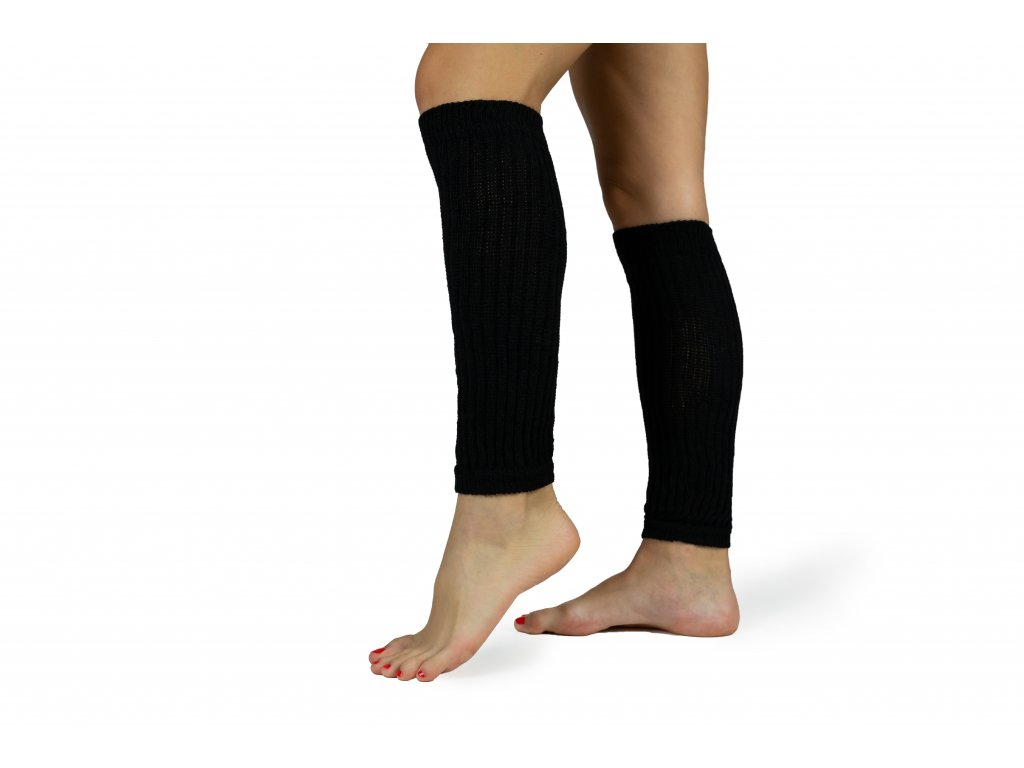 Návleky na nohy 35 cm černé