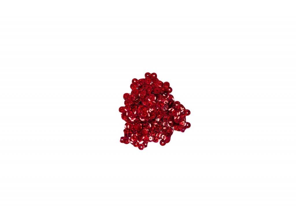 Flitry lomené s hologramem červená