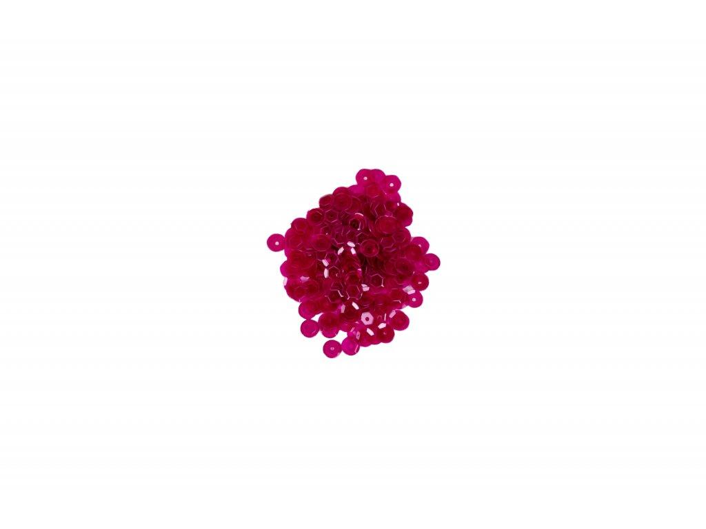 Flitry lomené  tmavě růžové