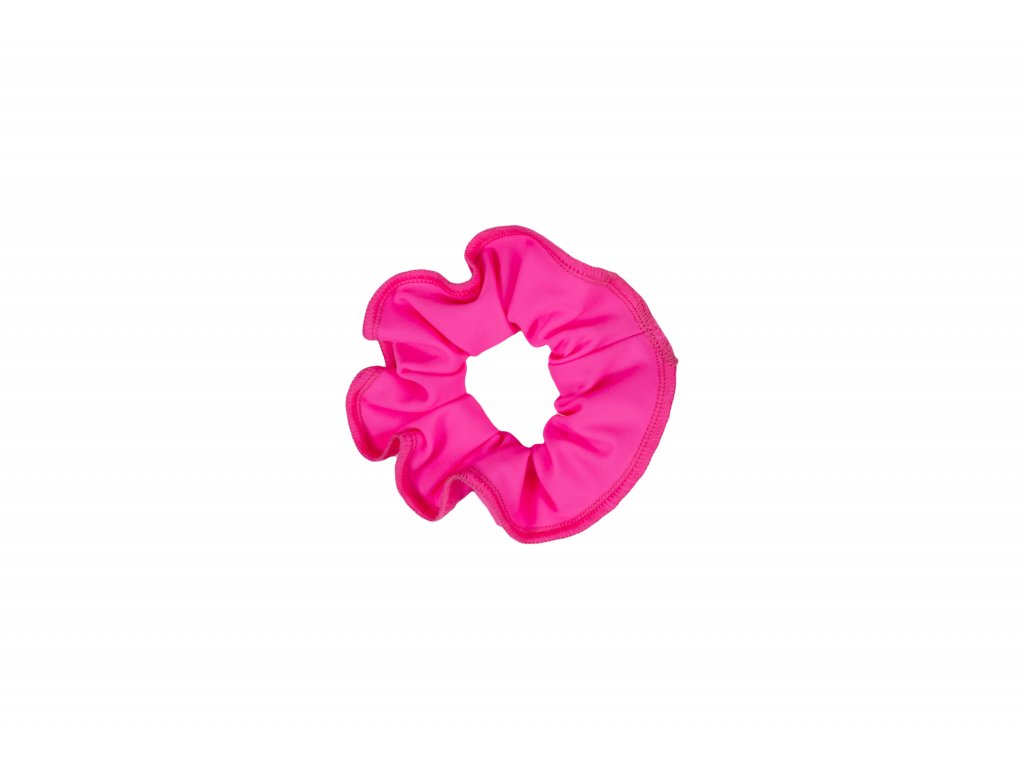 Gumička do vlasů VFstyle světle růžová