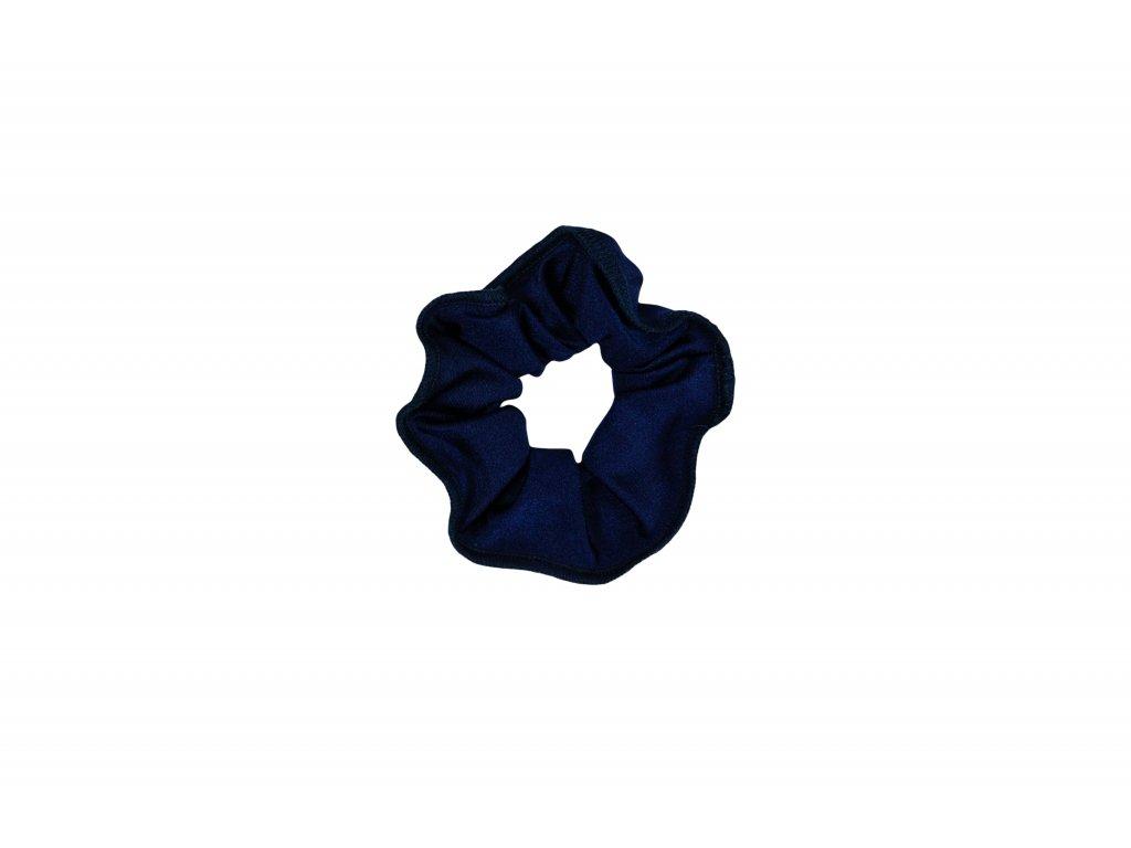 Gumička do vlasů VFstyle tmavě modrá