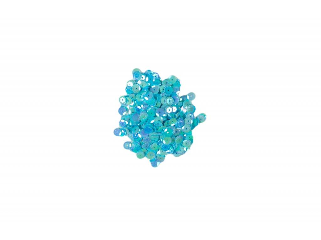 Flitry lomené bez hologramu  světle modré