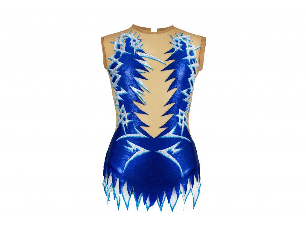 Gymnastický dres Maya modrý