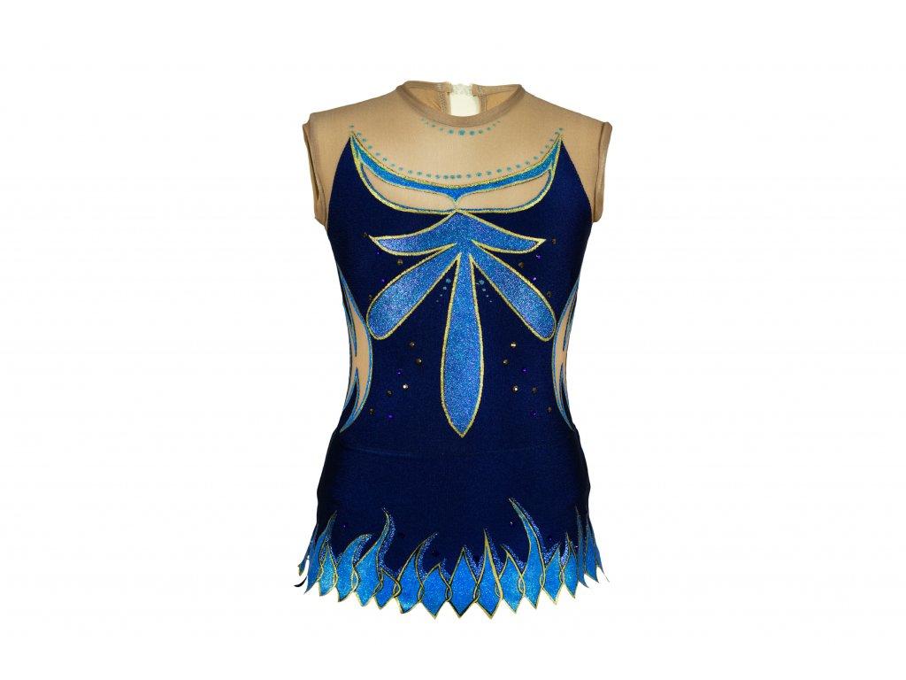 Gymnastický dres Rebeka modrý