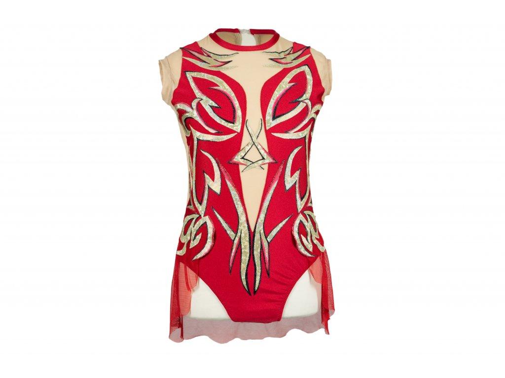 Gymnastický dres Felixa červený