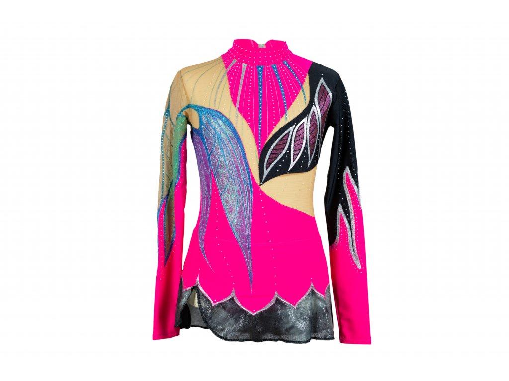 Gymnastický dres Stella růžový