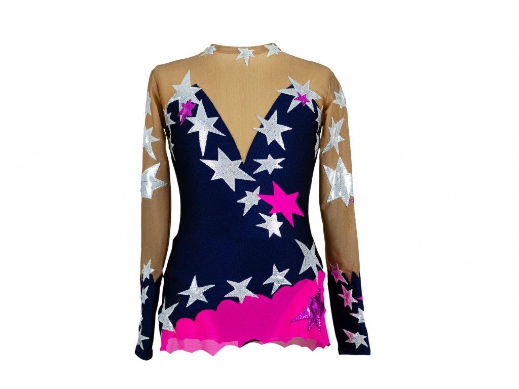 Gymnastický dres Nicol modrý