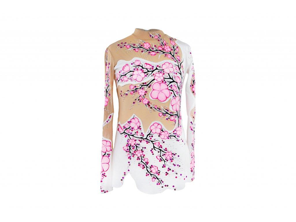 Gymnastický dres Julia růžový