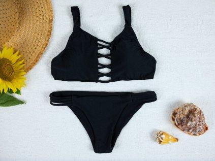 Dámské dvoudílné plavky Jolie černé