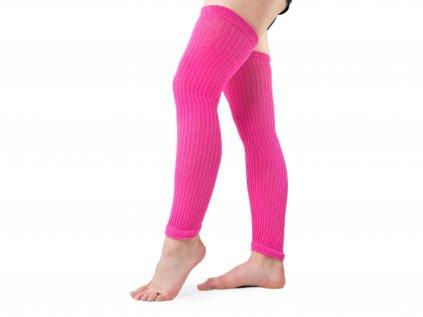 Návleky na nohy VFstyle 60 cm růžové