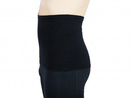 Pánský ledvinový pás Comfort, černý
