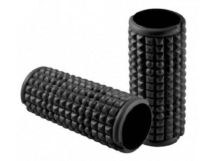 Masážní válec Foam roller 33x14 cm, černý