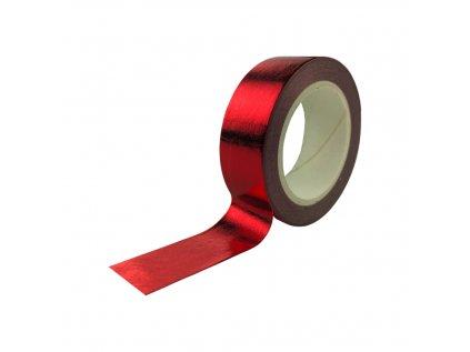 Ozdobná izolepa VFstyle červená