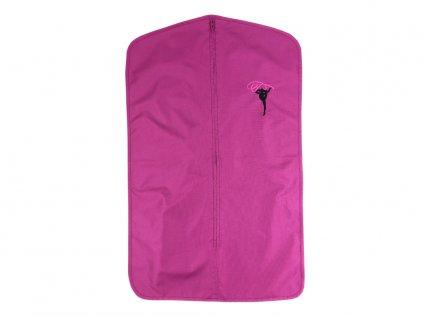 Obal na dres VFstyle s gymnastkou fialový