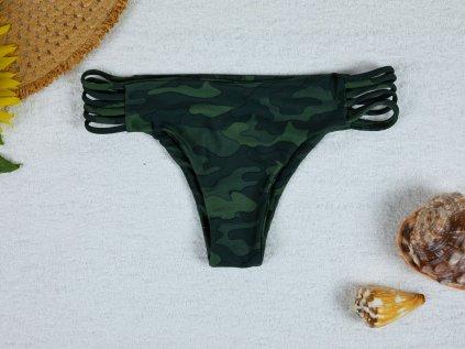 Spodní díl plavek brazilky Bonnie maskáčové