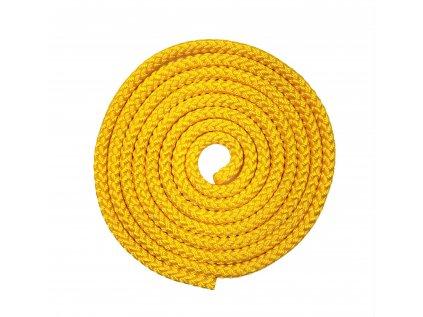 Gymnastické švihadlo VFstyle žluté