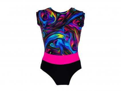 Dres na gymnastiku Marina barevný