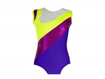 Dres na gymnastiku Violet fialový