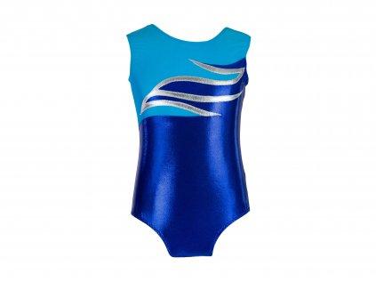 Dres na gymnastiku Josey modrý