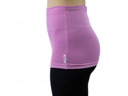 Ledvinový pás Comfort, růžovo-fialový