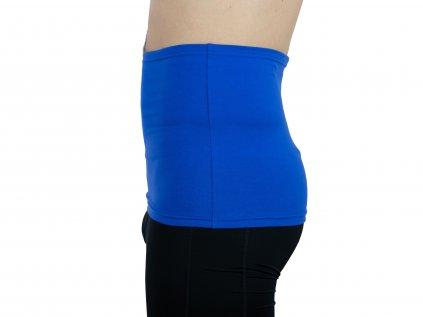 Pánský ledvinový pás Comfort, královsky modrý
