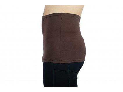 Pánský ledvinový pás Comfort, hnědý