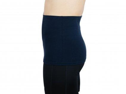 Pánský ledvinový pás Comfort, tmavě modrý