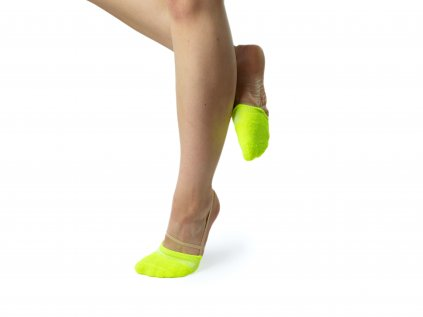 Gymnastické ťapky VFstyle fluo žluté