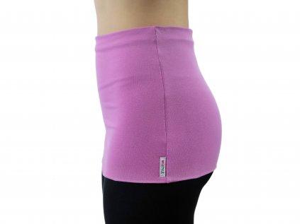 Ledvinový pás Premium, růžovo-fialový