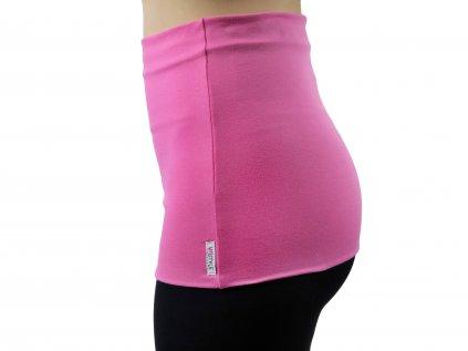 Ledvinový pás Premium, světle růžový