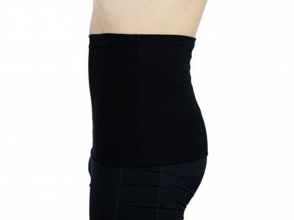 Pánský ledvinový pás Premium, černý