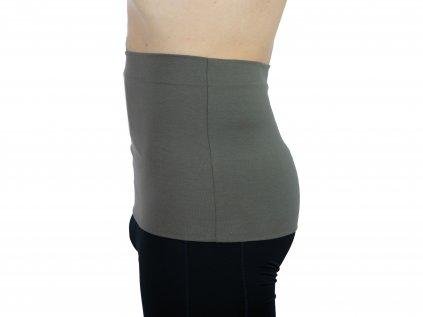Pánský ledvinový pás Premium, khaki